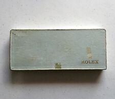 Vintage ROLEX box pour pièces 1970 submariner rouge écrit 1680 5513 5512 brevet