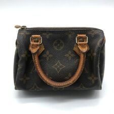 LOUIS VUITTON M41534 Monogram Mini Speedy Pouch Hand Bag