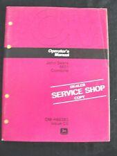 ORIGINAL 1975 JOHN DEERE 6601 COMBINE OPERATORS MANUAL VERY GOOD SHAPE