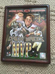 Drew Brees New Orleans Saints Autographed 8x10 Photo super bowl celebration