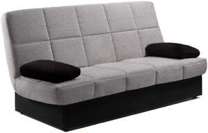Sofas sofá cama  Arc clic clac desenfundable con arcón 2 plazas, varios colore