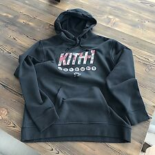 "New Rare Kith NYC x Nike Camoflauge Nike Air Force 1 ""Uptowns"" Hoodie Large"