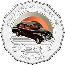 2016 Holden Heritage Collection 48-215 (FX) Classic Car 50c Coin in Card