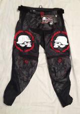Men's MSR Metal Mulisha Scope Racing Pants Size/sz 32 Color Black/Red 334158 CO