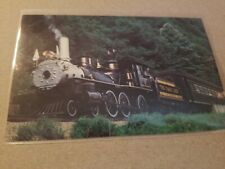 Postcard Clinchfield One Spot at Tennessee North Carolina State line