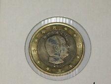 MONACO 1 EURO COIN 2007 ALBERT II / NO MINTMARKS ,UNC