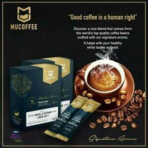 Mu Coffee L-Carnitine Fumarate FiberCreme smooth taste skimmed milk HALAL 100%