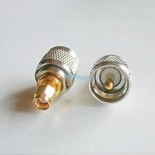1X RP-SMA RPSMA Plug to UHF Male PL-259 PL259 Jumper  RF adapter connector Radio