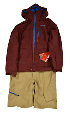 Men's North Face Red Squizzle One Piece Recco Ski Snow Suit M New