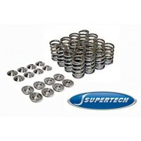 SUPERTECH RETAINERS & DUAL VALVE SPRINGS COMBO HONDA/ACURA B-SERIES B16A B18C