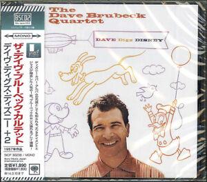 THE DAVE BRUBECK QUARTET-DAVE DIGS DISNEY-JAPAN BLU-SPEC CD2 D73