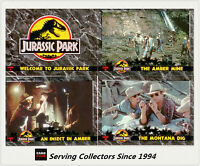 Australia Dynamic Jurassic Park Trading Cards Full Base Set (110 Cards)--MINT!!!