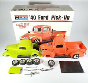 1973 Monogram Early Iron Series Builder Lot with Box - '40 Ford & '34 Coupe