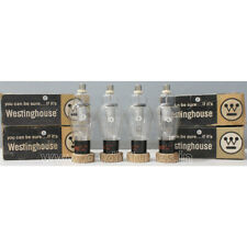 4pcs 866A Westinghouse New In ORIGINAL Box made in USA RECTIFIER VACUUM TUBES