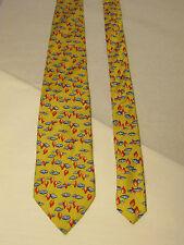 cravate vintage  louis feraud soie