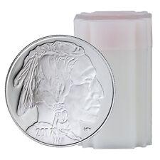2017 Highland Mint 1 oz Silver American Indian Buffalo Round - Roll(20) SKU45378