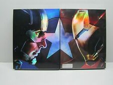 CAPTAIN AMERICA: CIVIL WAR - (SET 2 steelbook) NOVA MEDIA (open) Full Slip A + B