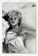 Monroe in Bed Nude Actress Poster Marilyn Monroe Prints for Bedroom Decor