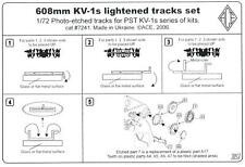 Ace Models 1/72 KV-1 608mm LIGHTENED TANK TRACKS Photo Etch Set