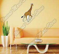 "Giraffe Wild Africa Animal Tall Neck Wall Sticker Room Interior Decor 16""X25"""