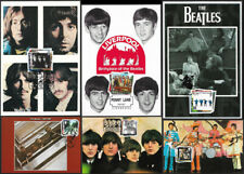 GB 2007 The Beatles SG2686-2691 stamp maxi cards x 6