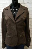 LIU JO Donna Giacca Taglia M Blazer da Ufficio Jacket Woman Cappotto Bottone