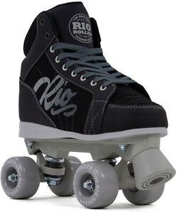 RIO ROLLER Rollschuhe Roller Skates LUMINA Rollschuh black/grey Rollschuhe