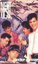 NEW KIDS ON THE BLOCK - STEP BY STEP (1990) (CASSETTE) CBS