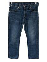 Levi's 506 Bleu Foncé Standard Jeans Coupe Droite Taille W32