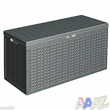Storage Outdoor Box Garden Patio Chest Plastic Lid Container Cargobox 320L