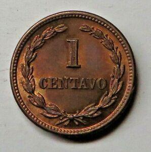 El Salvador Centavo 1956(P) Bronze KM#135.1 UNC