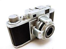 Vintage Riken Ricoh 35 Rangefinder Camera & Original Case Ricomat Lens