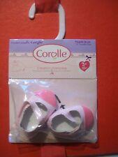 CHAUSSURES BALLERINE ROSE 2 COULEURS DE ROSE POUPEE COROLLE 36CM NEUVES ...