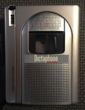 DICTAPHONE 2225 Standard Cassette Voice Processor Voice Activated Tested