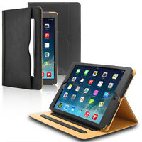 iPad 2 3 4, Smart Folio Card Wallet Leather Case + MFi Lightning Cable + Films
