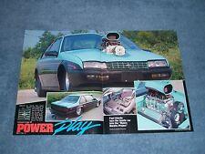 "1988 Chevy Beretta Pro Street Article ""Power Play"""
