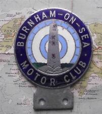 Old Art Deco Lighthouse Car Mascot Badge for Burnham on Sea Motor Club