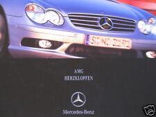 Prospectus Mercedes c32 s55 ml55 slk32 sl55 AMG 2002