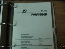 Palfinger BK 008 Demountable Console Parts List
