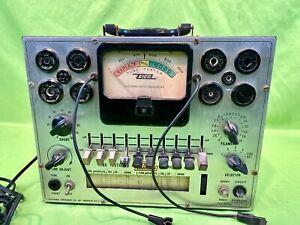 Vintage Electronic Instrument Co. EICO Model 625 TUBE TESTER - Needs new Glass!