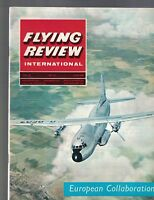 Flying Review International Magazine July 1965 Concorde Breguet Atlantic