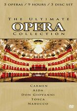 DVD:THE ULTIMATE OPERA COLLECTION (5 DVD BOX) - NEW Region 2 UK