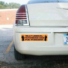 "Funny Republican Bumper Sticker or Magnet Pair- Design #5 - 3""x11.5"" - FREE SHIP"