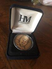 Derek Jeter New York Yankees Highland Mint Solid Bronze Series Medallion Coin