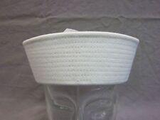 US USA Marine Mütze Navy Sailor Hat in weiss Größe M = Medium, Neu