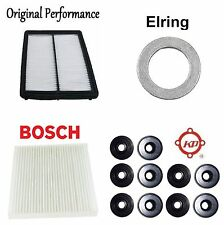Tune Up Kit Cabin Air Filters Gasket O-Rings for Honda Crosstour V6; 3.5L 2012