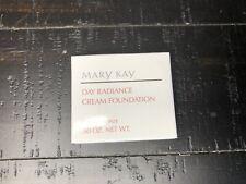 Mary Kay 0091 .5 oz Day Radiance Cream Foundation Classic Bronze