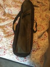 2 POCKETS 120cm FISHING HOLDALL BAG LUGGAGE for made up rods & reels Used Twice