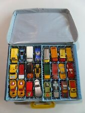 Vintage Hot Wheels Matchbox & Other Diecast Cars Lot of 48 in Matchbox Case