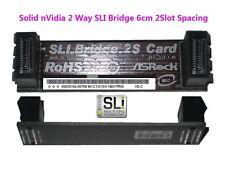 nVidia 2-Way Video Graphics Card SLI Bridge  2 Slots Spacing 6cm 60mm PCB Card